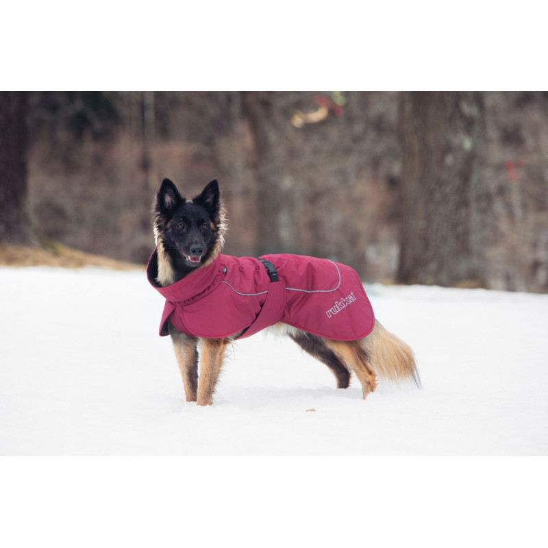 STORMY COAT BURGUNDY