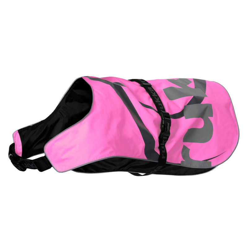 FLAP SAFETY VEST HOT PINK