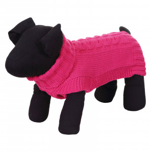WOOLY SWEATER HOT PINK