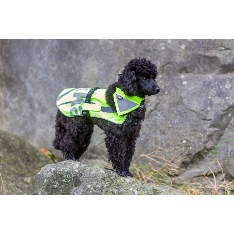 FLAP SAFETY VEST YELLOW